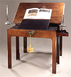 Fine_George_II_Mahogany_Architects_Desk_c1745_Open
