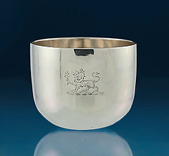 Fine George III Silver Tumbler Cup, Samuel Strahan, London, 1807