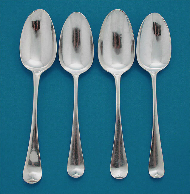 George ii silver scroll back shell back tablespoons m for 1 tablespoon to teaspoon