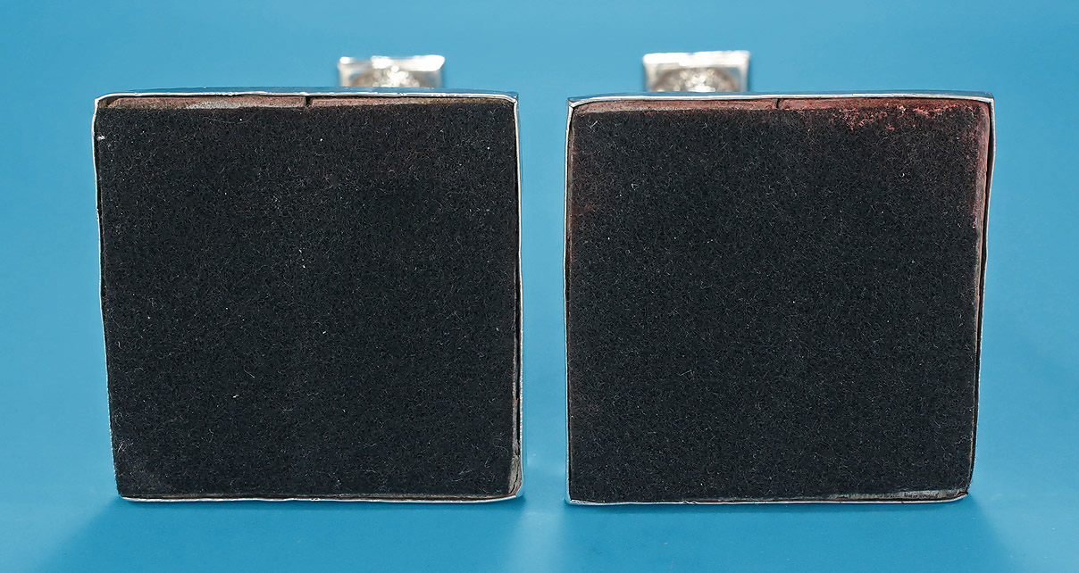 Pair of SILVER NEOCLASSICAL Tapersticks