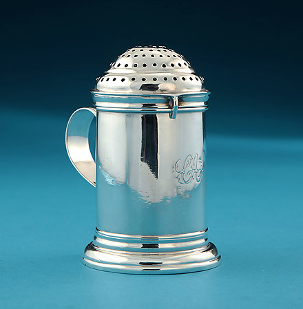 Queen Anne Britannia Silver Kitchen Caster, Adam, London 1713