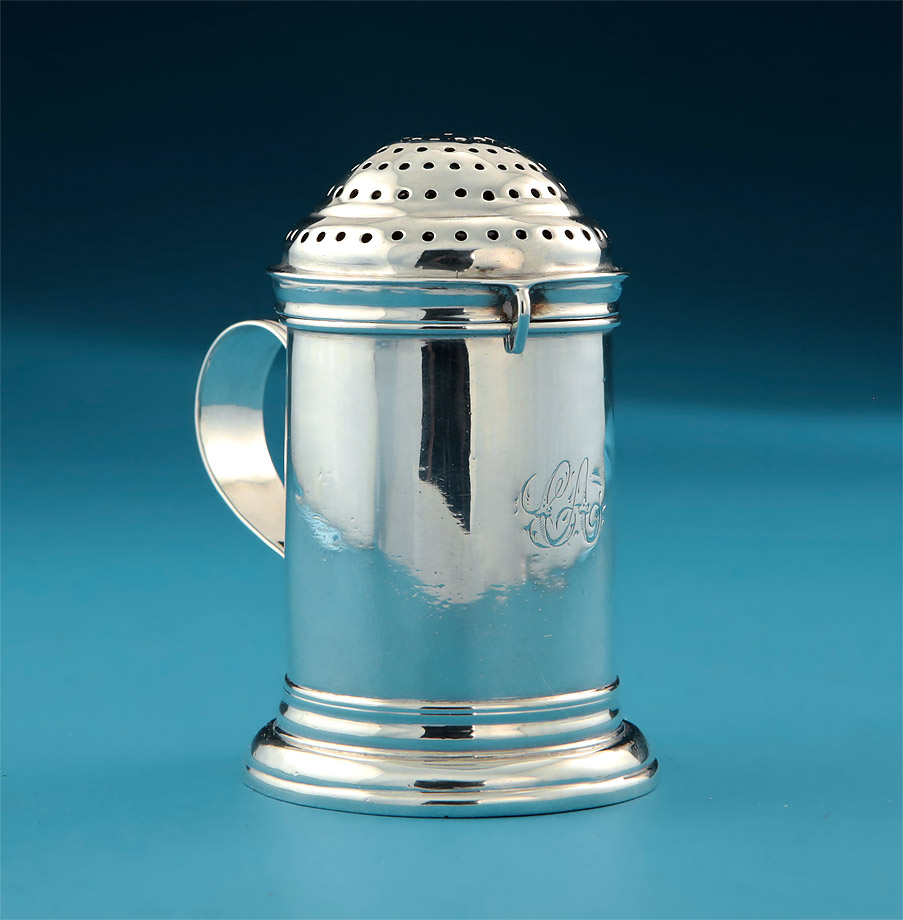"QUEEN ANNE BRITANNIA SILVER ""KITCHEN"" CASTER"