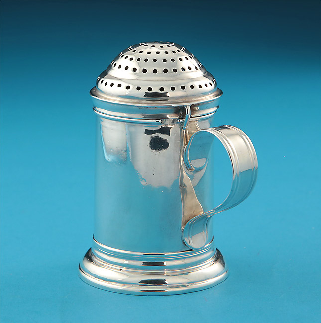 "QUEEN ANNE BRITANNIA SILVER ""KITCHEN"" CASTER , handle"