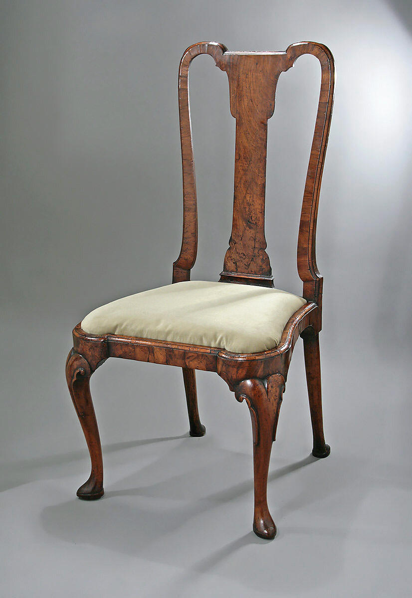 Ford Dealers Nj >> QUEEN ANNE / GEORGE I WALNUT VENEERED SIDE CHAIR, England, c1710-1715; M. Ford Creech Antiques ...