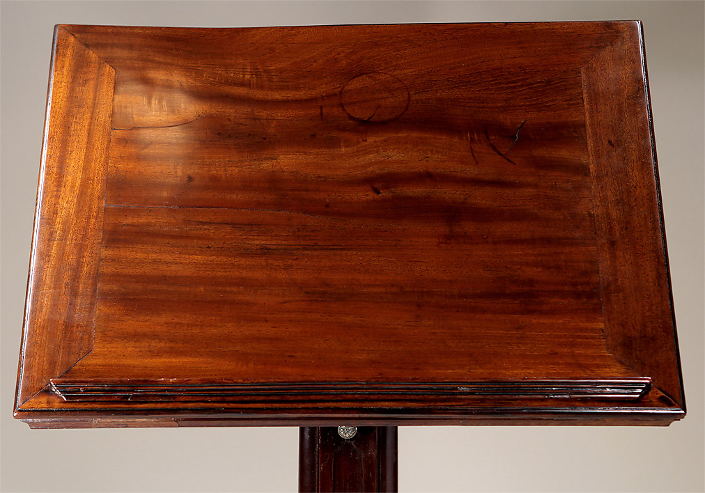 Also See : Fine Early George III Adjustable Mahogany Reading Table