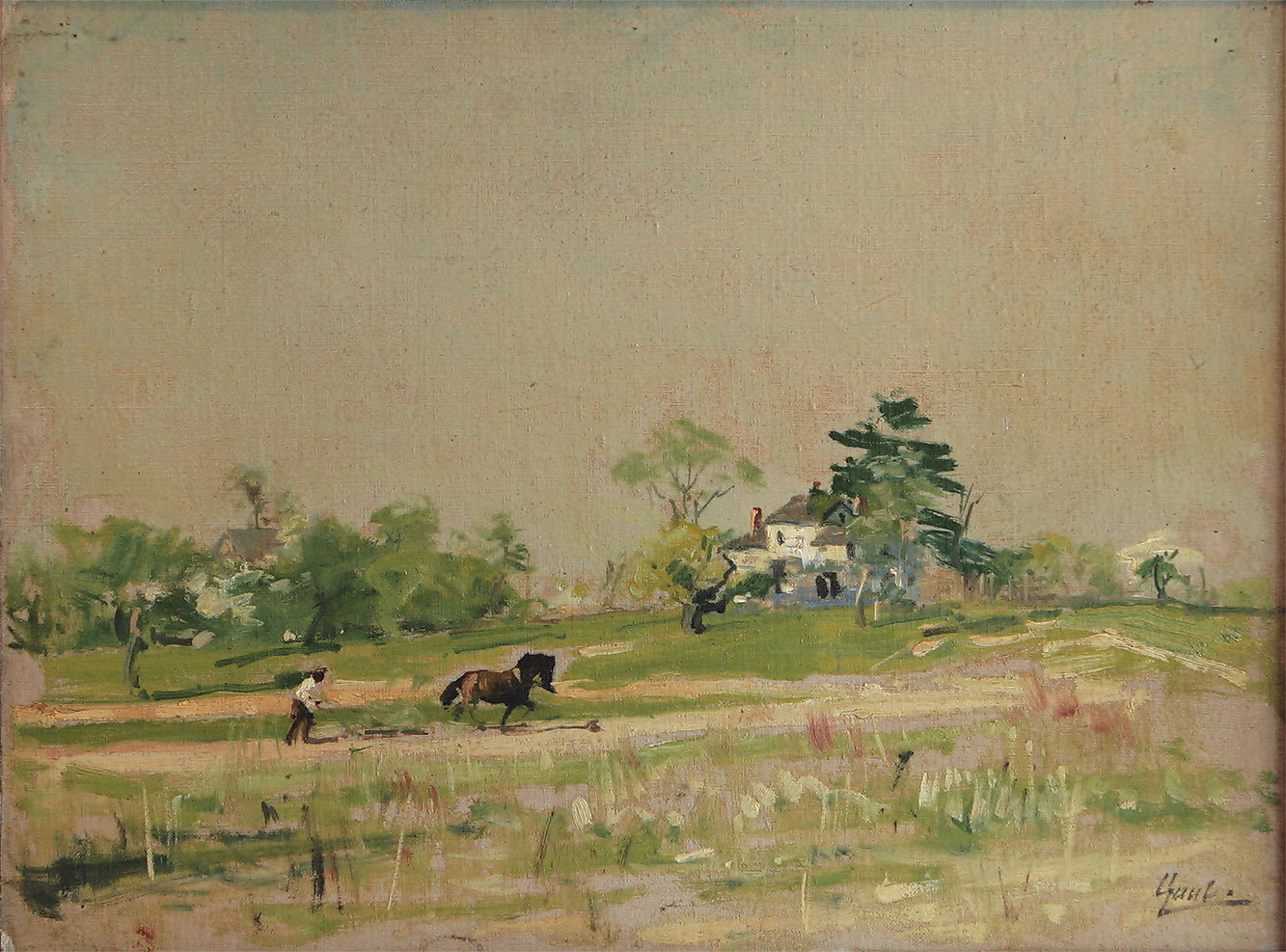William Gilbert Gaul Southern Landscape Cc W on 2007 Ford Van